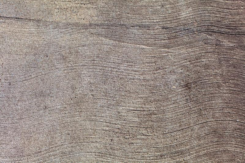 Wavy lines.Grey Concrete Texture, wavy lines royalty free stock photo