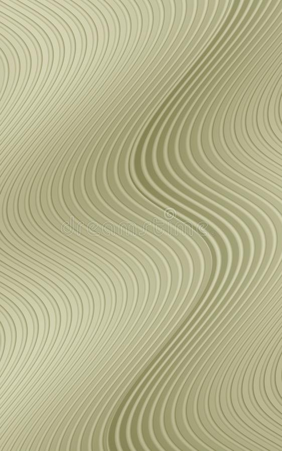 Free Wavy Rippling Vertical Curved Lines In Neutral Shades Of Tan Beige Abstract Wallpaper Background Illustration Royalty Free Stock Photography - 136832717