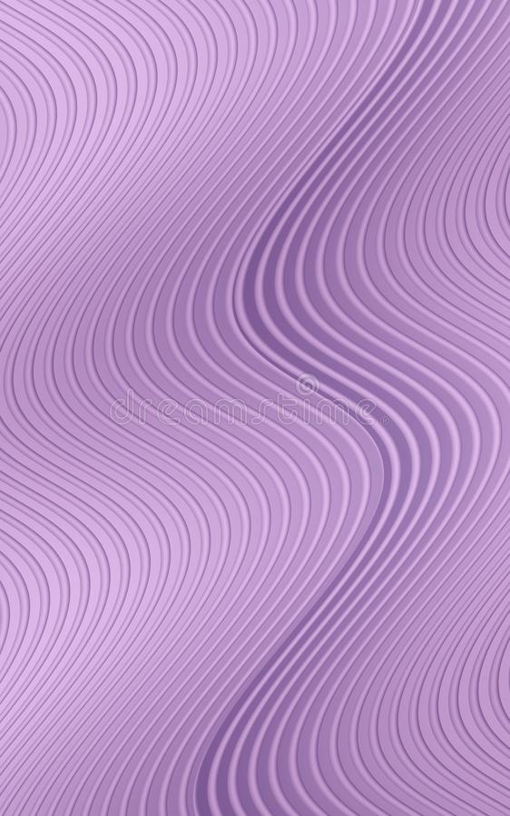 Free Wavy Rippling Vertical Curved Lines In Shades Of Vivid Mauve Purple Abstract Wallpaper Background Illustration Royalty Free Stock Images - 136832409