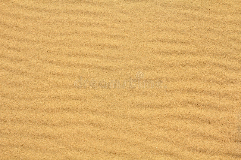 Wavy Sand Texture Royalty Free Stock Images