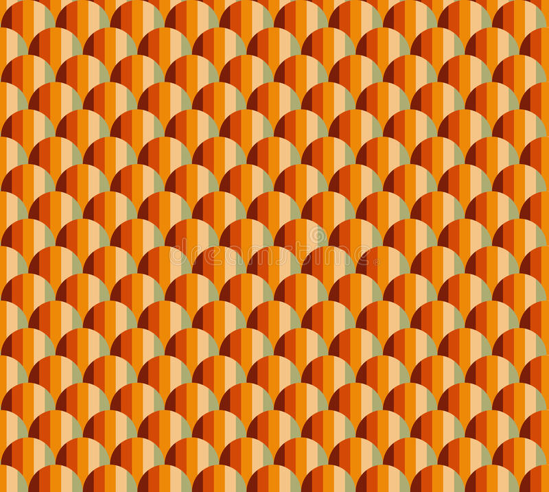 WAVY SEAMLESS PATTERN stock image