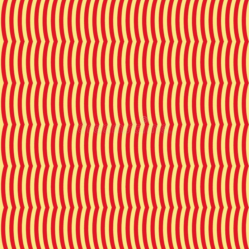 Wavy seamless pattern. Abstract background. Good design stock illustration