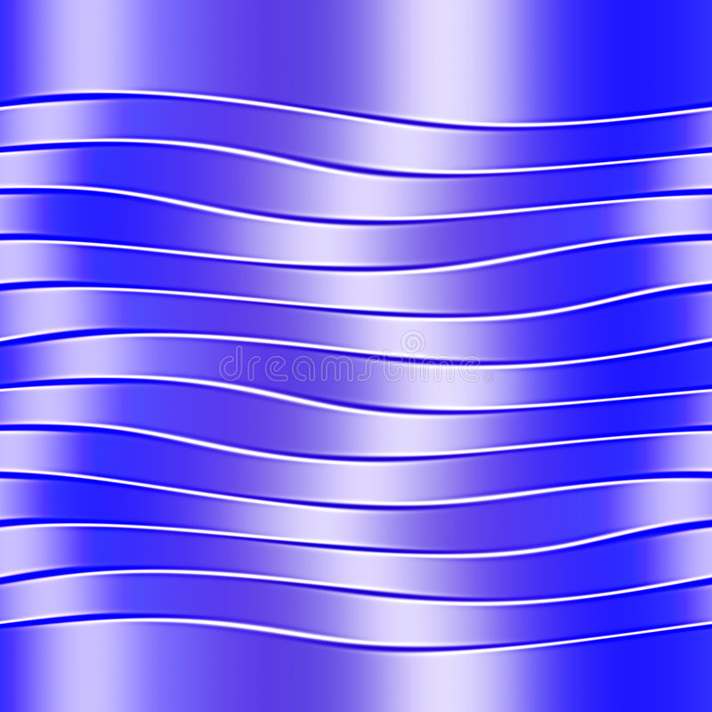 Wavy Stripes Stock Photography
