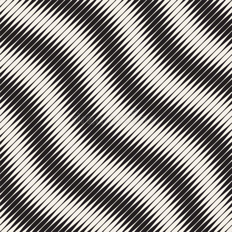 Wavy stripes vector seamless pattern. Retro wavy engraving texture. Geometric lines design. Wavy stripes vector seamless pattern. Retro wavy engraving texture stock photography