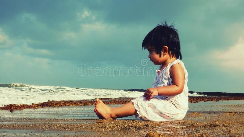 Wavy Thoughts stock images