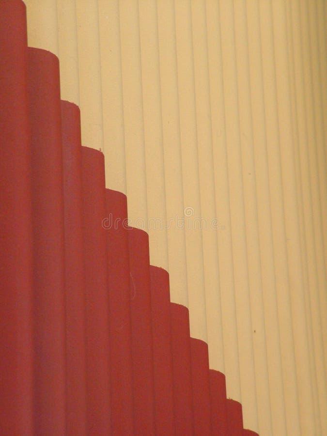 Wavy Wall Stock Image