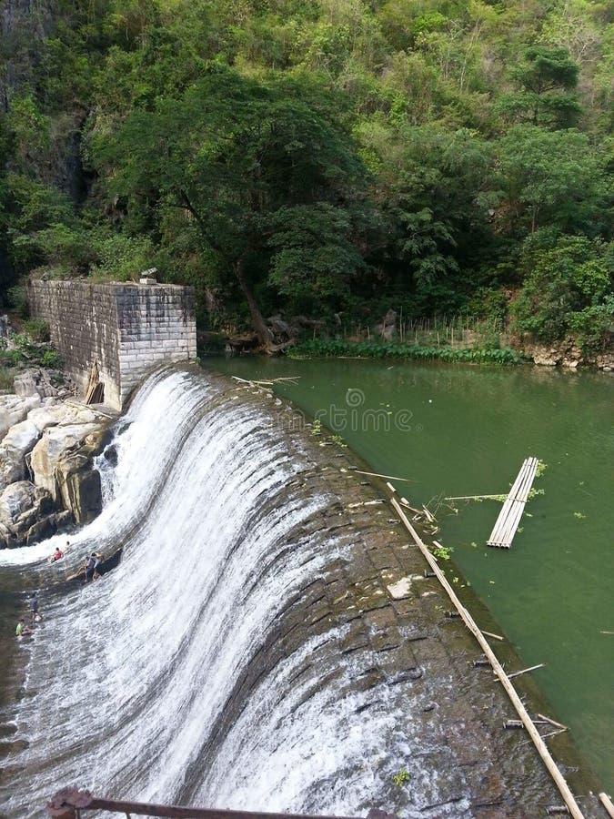 Wawa dam royalty free stock photo