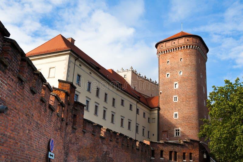 Wawel castle in Krakow royalty free stock images