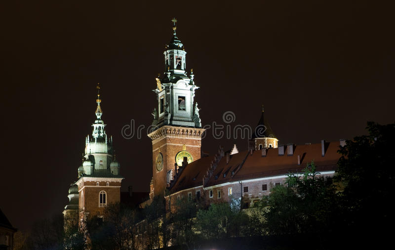 Wawel Castle In Krakow . Stock Photo