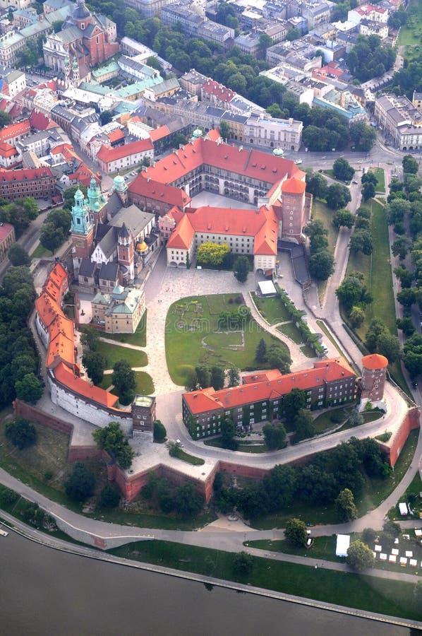 Wawel Castle, in Krakow, Poland stock images