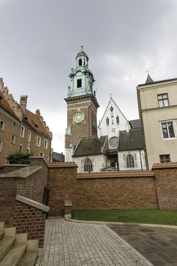 Wawel castle stock images