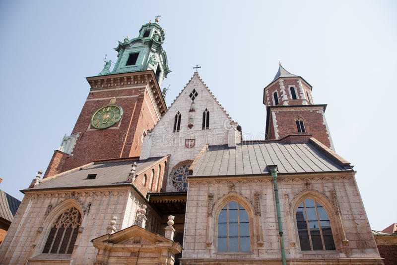 Download Wawel Cathedral stock image. Image of church, cracow - 26907807