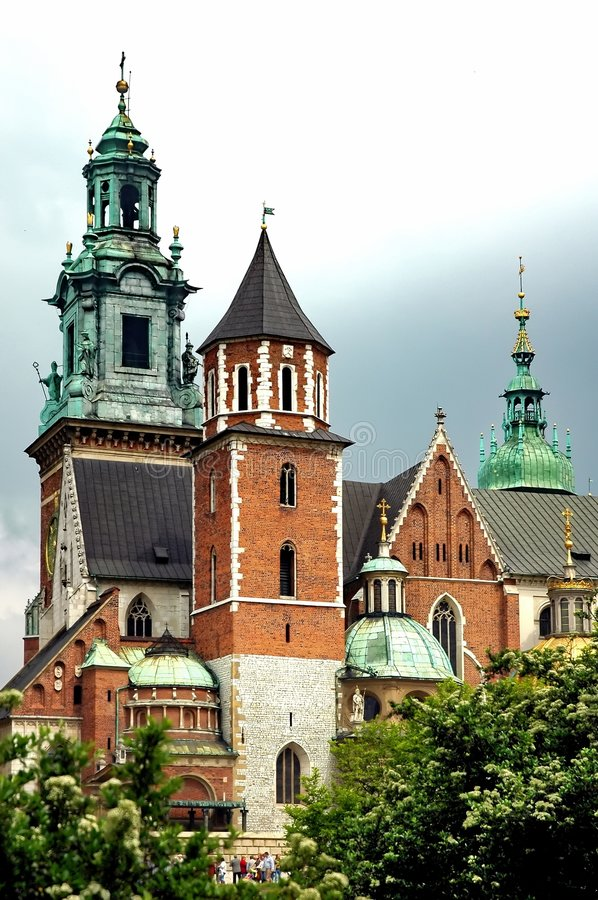 Free Wawel Cathedral In Krakow, Poland Stock Image - 5263671