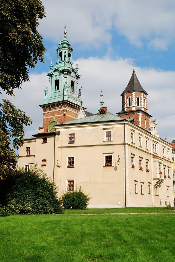 Wawel königliches Schloss in Krakau stockfoto