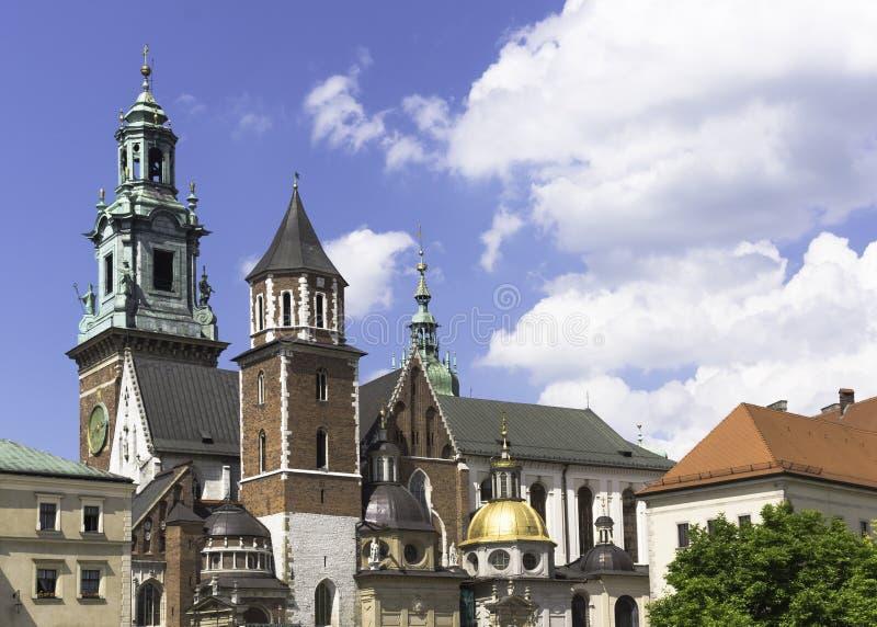 Wawel kasztel zdjęcie royalty free