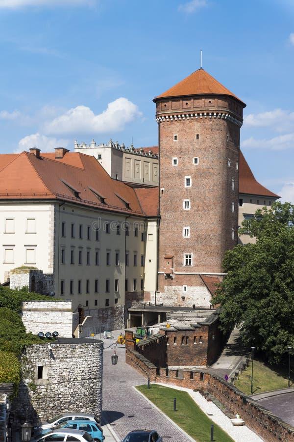 Wawel kasztel fotografia stock