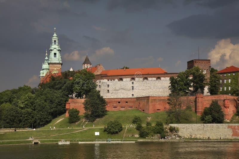 wawel krakow замока Польша стоковое фото