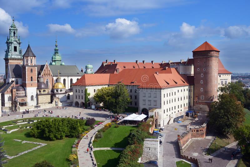 wawel krakow Польши замока стоковое фото rf