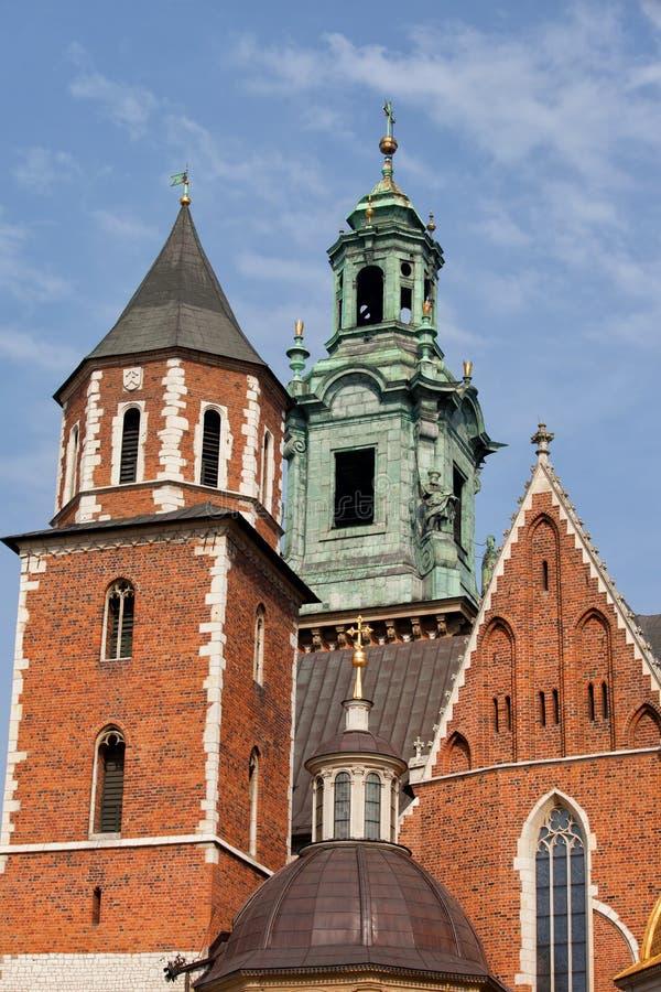 wawel krakow собора королевское стоковая фотография rf