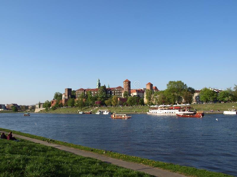 wawel krakow холма castel стоковые фотографии rf