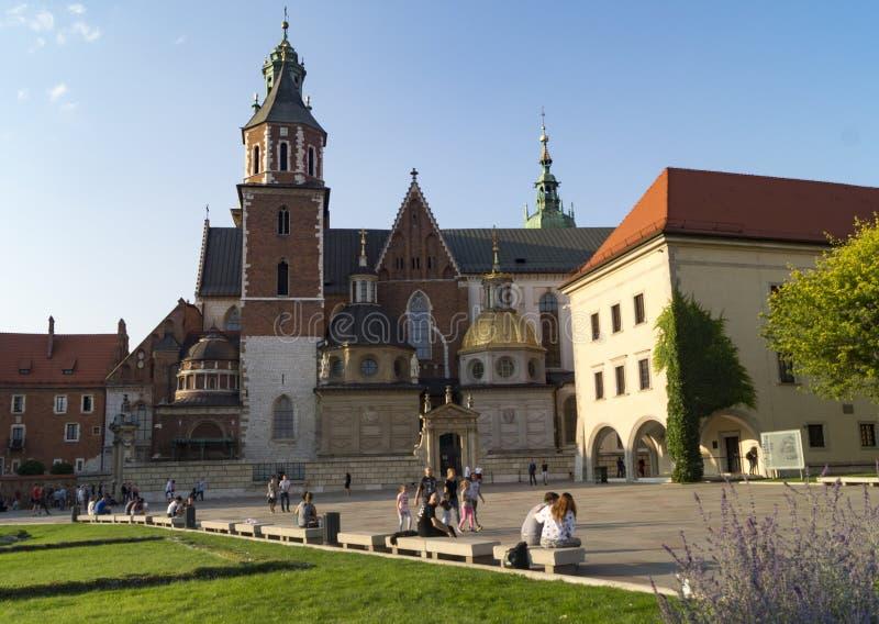 Wawel krakow royaltyfria foton
