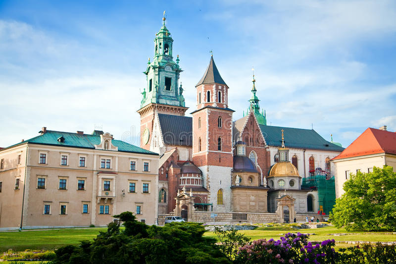 Wawel In Krakow royalty free stock photos