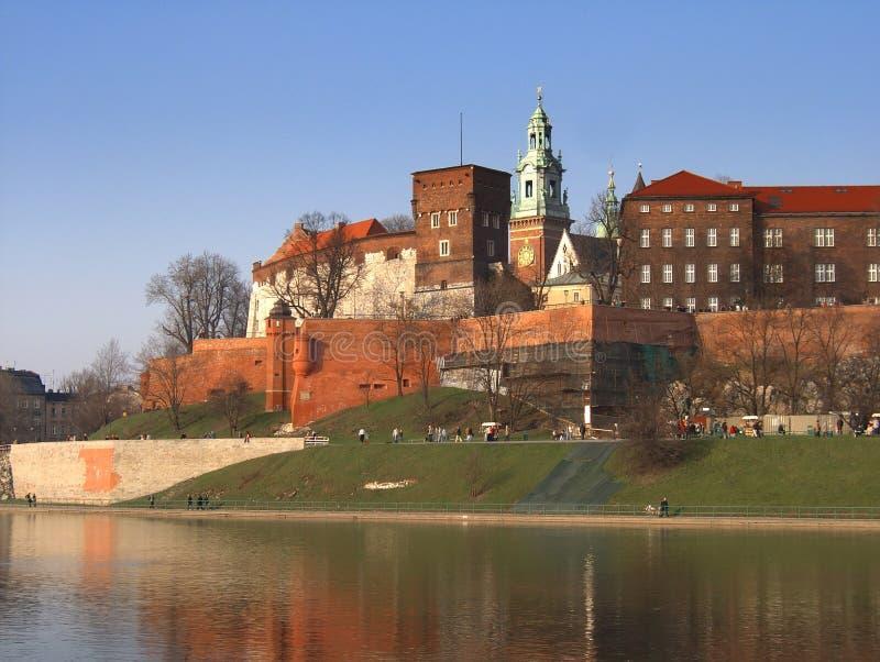 Wawel Schloss lizenzfreie stockfotografie