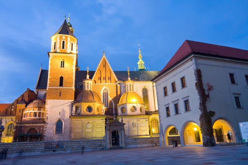 Wawel-Schloss in Krakau, Polen stockfoto