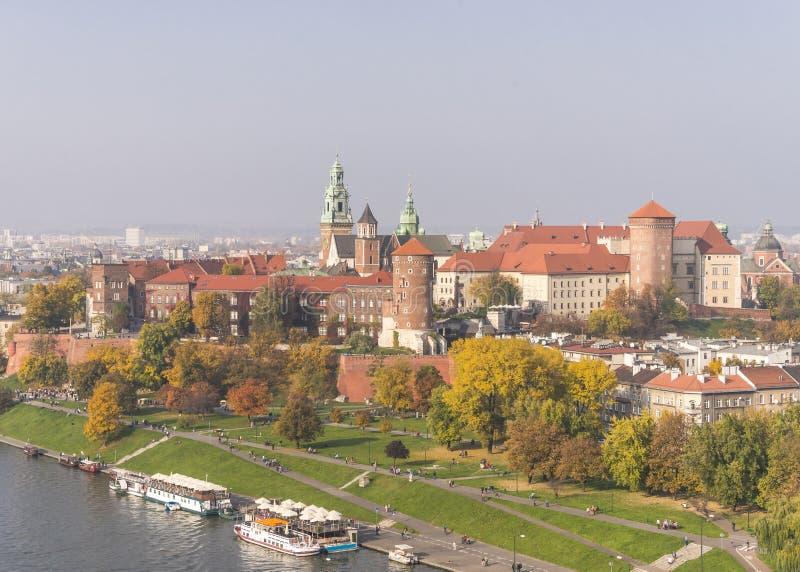 Wawel slott royaltyfri fotografi
