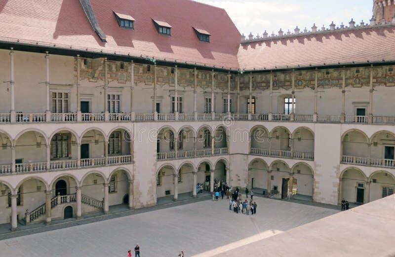 Wawelkasteel, Krakau royalty-vrije stock fotografie