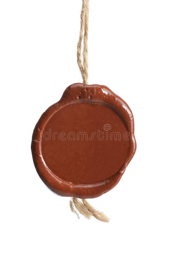 Download Wax seal stock image. Image of isolated, confidential - 29878723