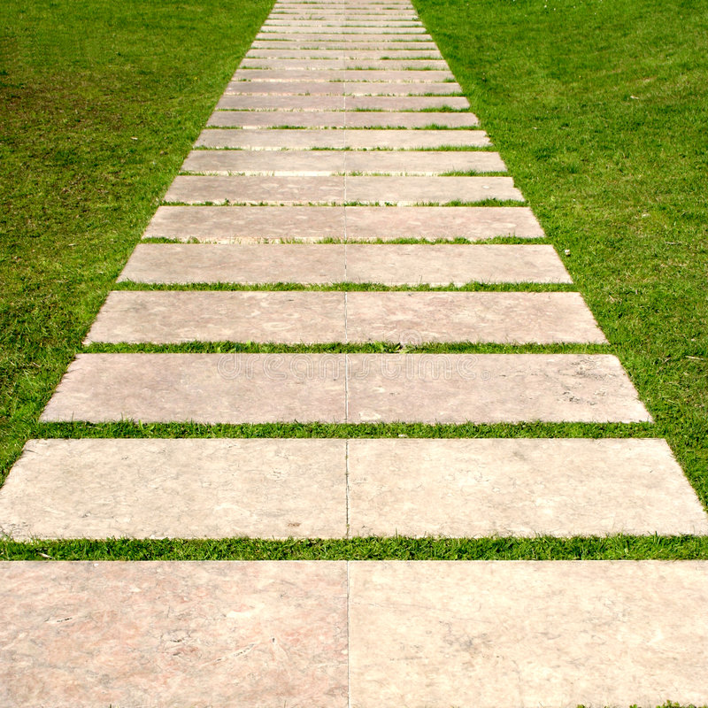 Download Way stock photo. Image of symbol, stones, cobble, grass - 8686366