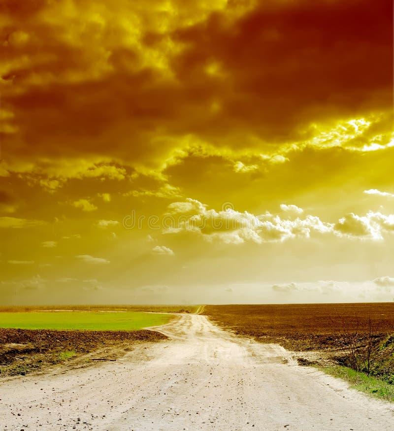 Download Way beyond the horizon stock image. Image of horizontal - 9054503
