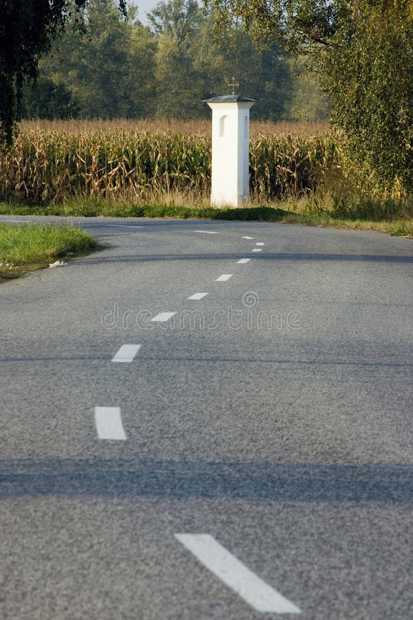 Download Way between field stock photo. Image of nature, column - 12359838