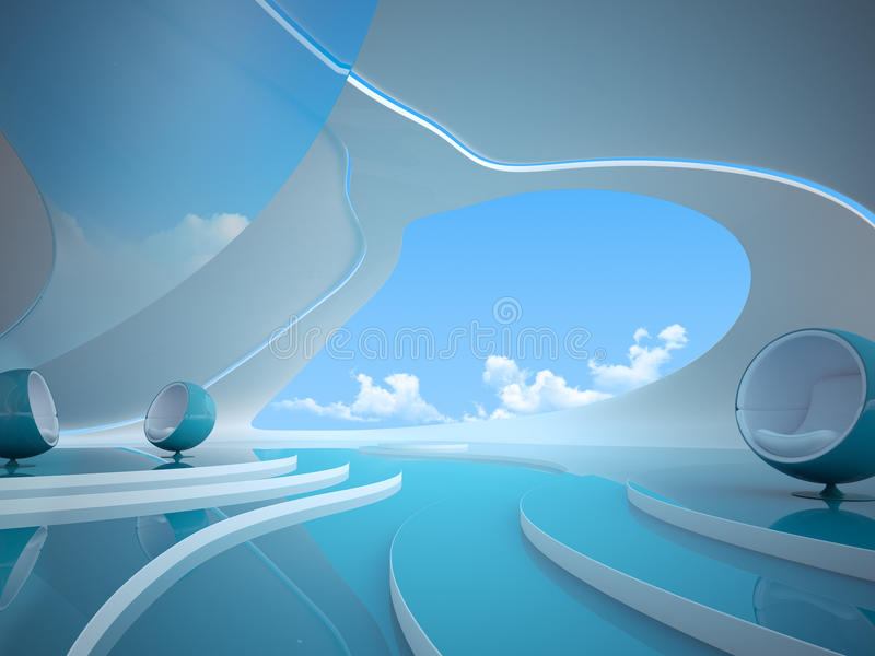Download The way future looks like stock illustration. Image of open - 12087453