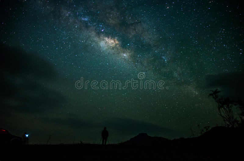 Download Way Galaxy stock photo. Image of panoramic, green, silent - 52558610
