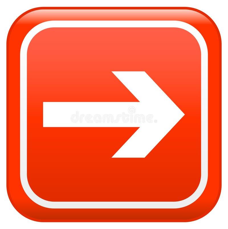 This way sign stock illustration