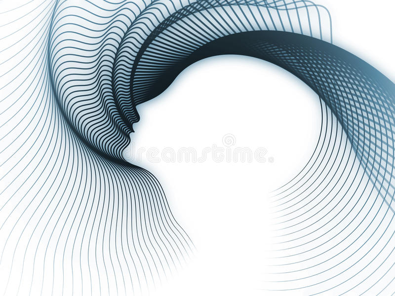 Way of Soul Geometry vector illustration