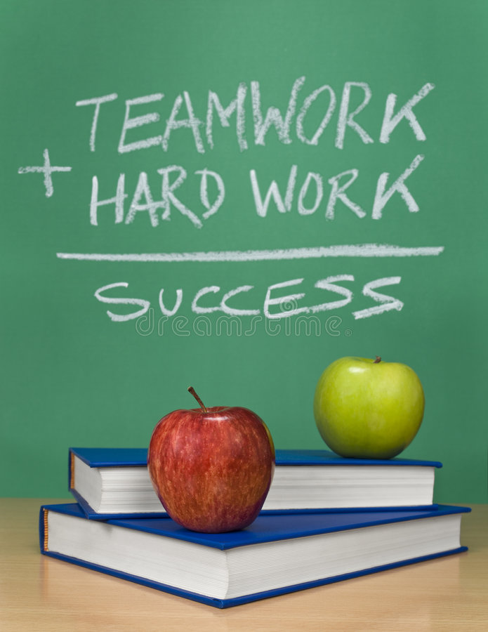 Download The way of success stock image. Image of educate, apple - 8277559