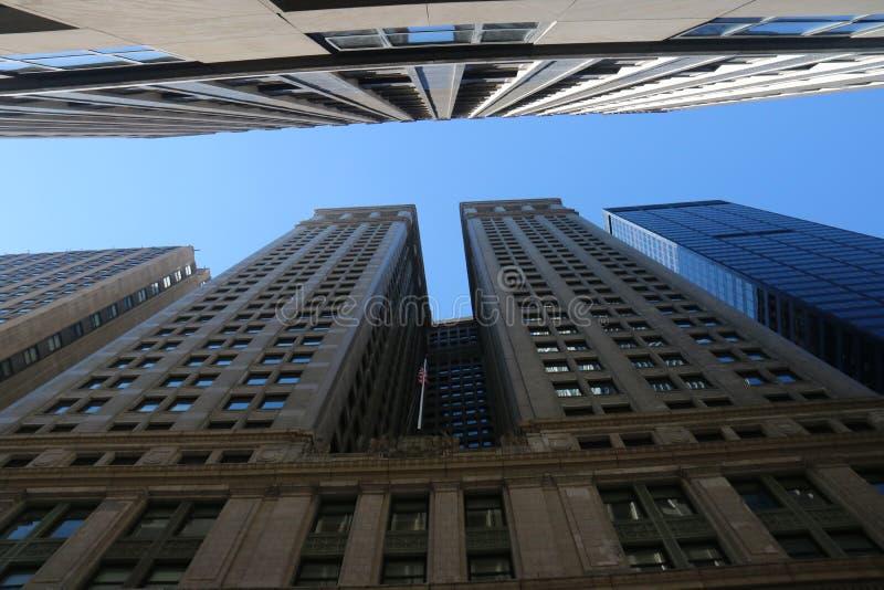 City Street New York City, Manhattan royalty free stock photography