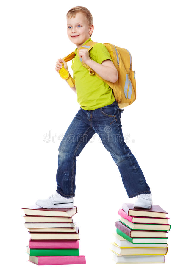 Download Way to education stock photo. Image of book, preschooler - 18002866