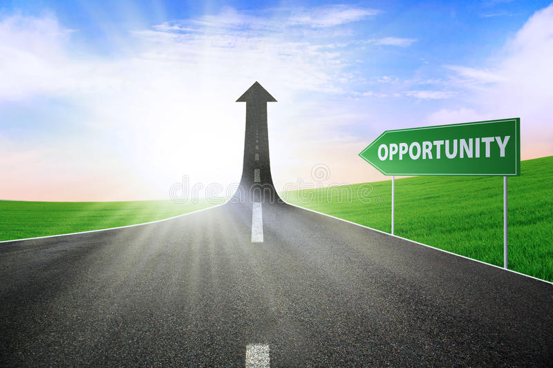 Download The Way To Gain Opportunity Stock Illustration - Illustration: 25805550