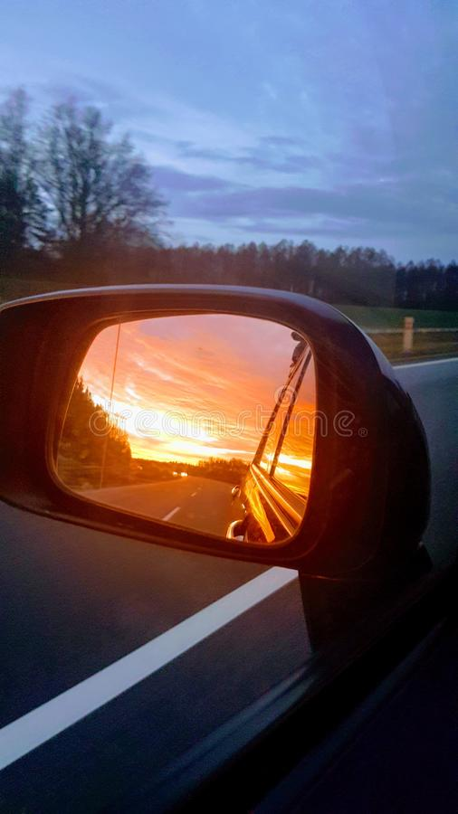 Way to home stock photography