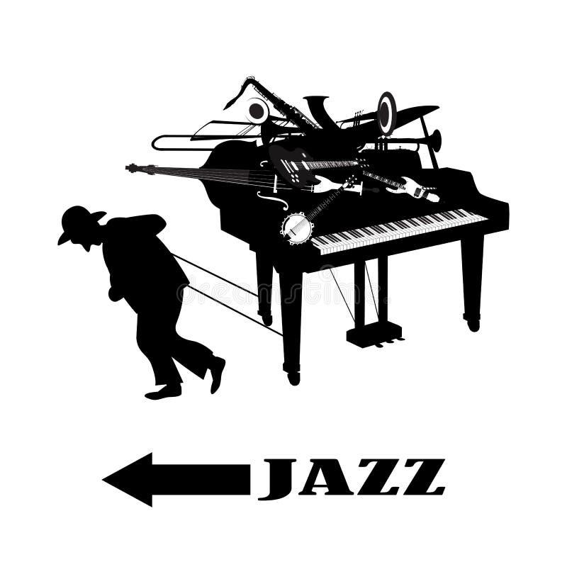 Way_to_jazz lizenzfreie stockbilder