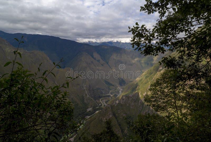 Way to the last Inca bridge, Machu Picchu in Peru - lost city of Inca. Indigenous, cusco, cloud, forest, architecture, scenic, culture, america, landmark royalty free stock photo