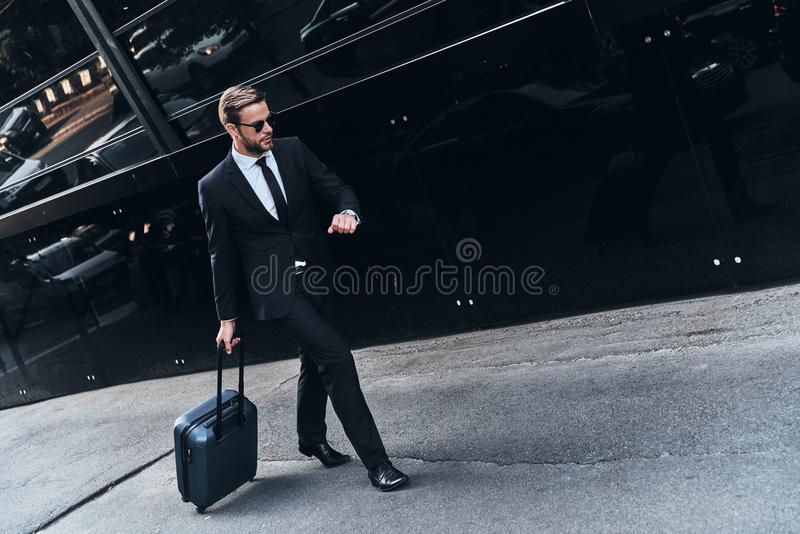 On the way to new opportunities. stock photography