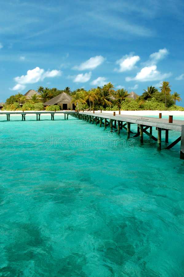 Way to paradies. Dream Island