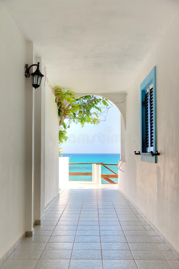 Download Way to paradise stock image. Image of building, beach - 36016061