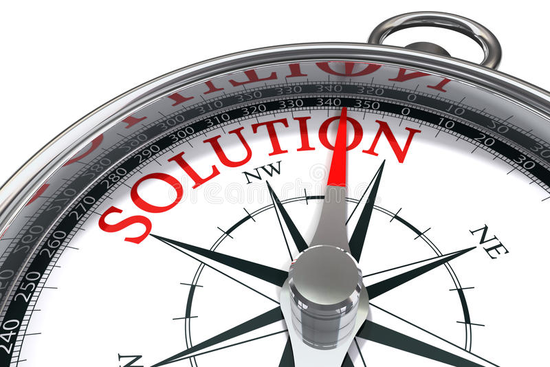Download The way to the solution stock illustration. Image of south - 21174415