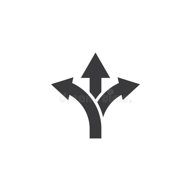 Way vector icon illustration design stock illustration